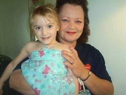 Grandma and Granddaughter Hannah