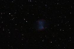M27 Dumbbell Nebula - DSLR