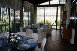 VILLA PETRIN glass veranda dining room