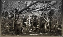 The Confederate picket at Talkbet Lake