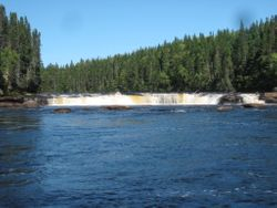 Big Falls, Humber River, NL