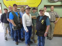 Participants at the 2019 Memorial Trap Shoot