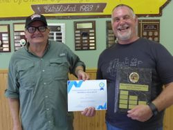 TOP GUN AWARD to Dave Batstone, UHRGA