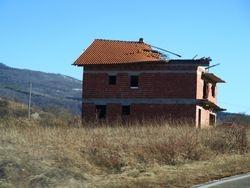 Ostaci rata, na putu od Grahova prema Livnu