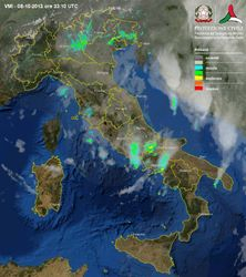 Radarski snimak