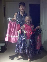 Gramma Penny and Granddaughter Annika