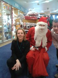 Santa In Hunter's Chemists