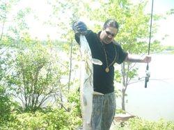 Gar Pike on the Ottawa River