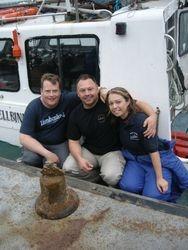 a Silent Running Mixed gas dive team