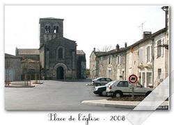 Chazelles, Eglise St Martin