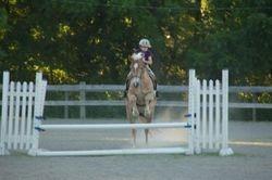 Alex and Chloe jumping