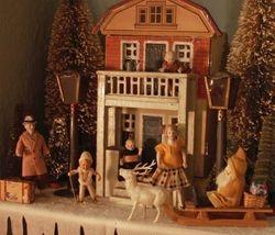 A Tiny Gottschalk Dollhouse