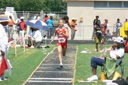 Lauren in the Long Jump