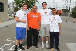 Hoops with Heart leaders
