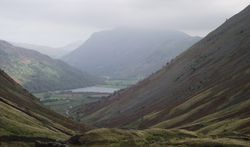 The harsh beauty of the lake district