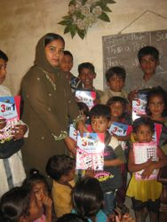 Distribution of Books