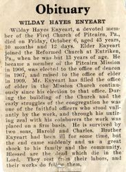 Enyeart, Wilday Hayes (1876-1922)
