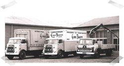 2x Daf A1600 en Bedford TK