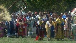 Me Native American pow wow