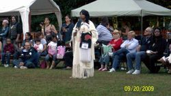 Pow wow in Hudson Valley New York