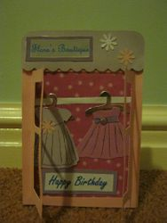 Boutique Birthday Card