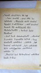 K'laamas Letter 1
