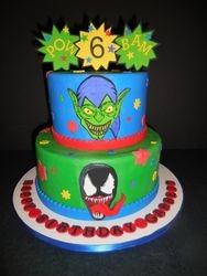 Garrett's Green Goblin, Venom Birthday