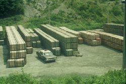 munitions depot at Camp Vayama