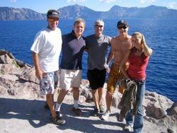 Crater Lake - team swim 7/2007
