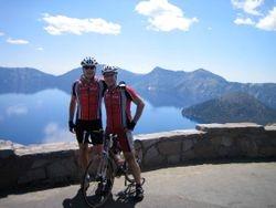 Crater Lake - Van & Pete 7/2007
