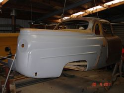 Ford Mainline Ute under restoration