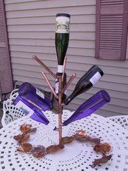 Table Top Bottle Tree