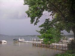 Storms on Saratoga Lake