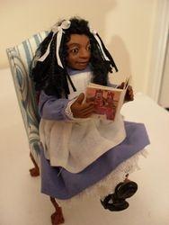 Little girl who loves Alice in Wonderland