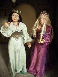 A pair of princesses