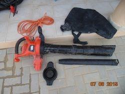 Black & Decker Garden Vac / Blower 150 AED