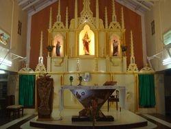 sacred heart church-alter