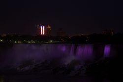 Niagara at night 2