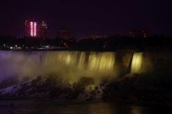 Niagara at night 3