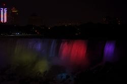 Niagara at night 4