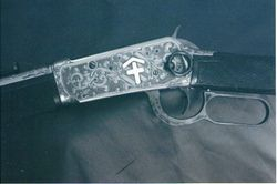 Winchester 1894 engraved by Johnny Seay