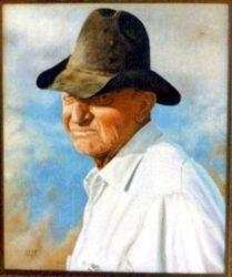 Vaughn Harris, Cowboy all his life.