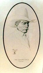 James E. Caldwell, cowman