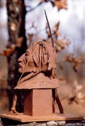 Lakota Warrior (Clay Original)