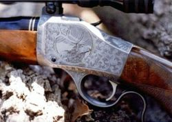 Model 78 Browning Engraved by John Seay