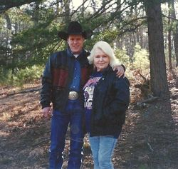My Son Chancey Mandan Seay with My mother Helen. Mother is 80 years old in this photo.