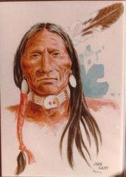 Lakota (Watercolor)