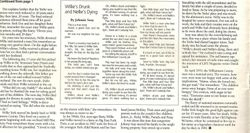 Part  #2 of artical on Willie York