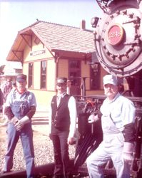 When I was an Engineer on the Fort Worth & Western RR