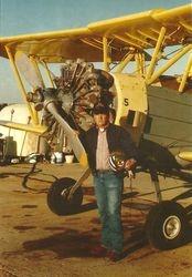 !989. Flying for Bernett Flying Service in Ark. & Tenn.